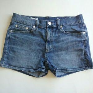 Gap 1969 Slim Shorts 26 R Denim Jeans Stretch